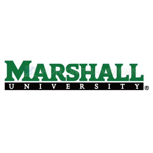Marshall Thundering Herd Logo T-shirts Iron On Transfers N4974
