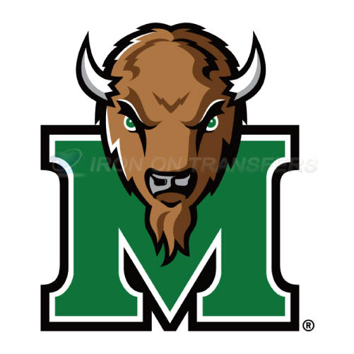 Marshall Thundering Herd Logo T-shirts Iron On Transfers N4978