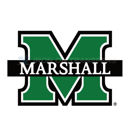 Marshall Thundering Herd Logo T-shirts Iron On Transfers N4979