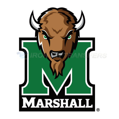 Marshall Thundering Herd Logo T-shirts Iron On Transfers N4980