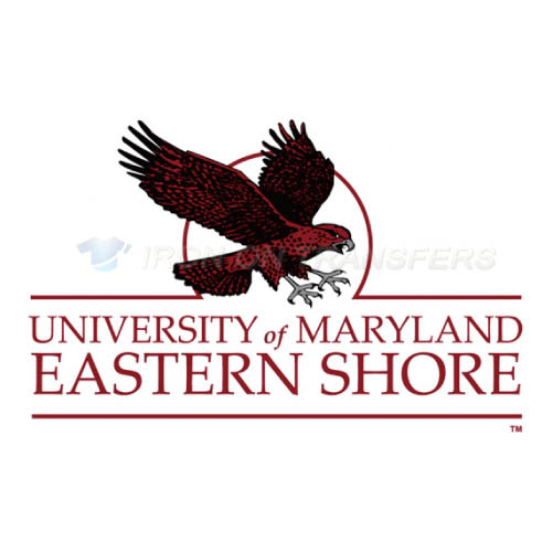 Maryland Eastern Shore Hawks Logo T-shirts Iron On Transfers N49