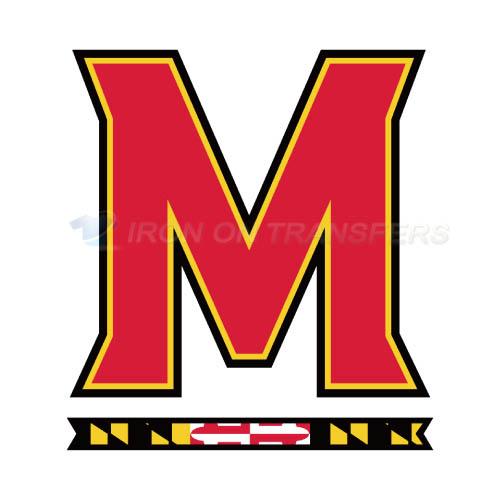 Maryland Terrapins Logo T Shirts Iron On Transfers N5000