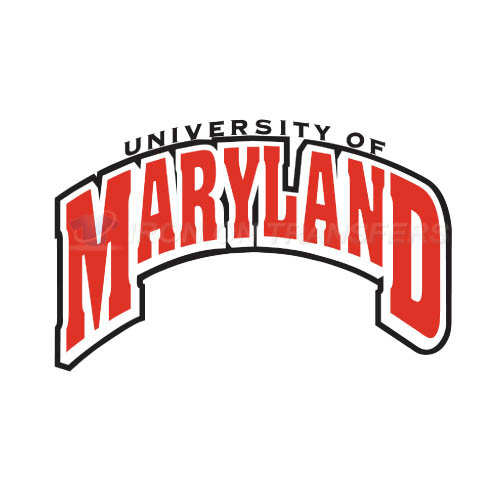 Maryland Terrapins Logo T-shirts Iron On Transfers N4990