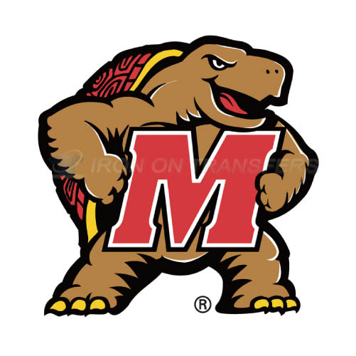 Maryland Terrapins Logo T-shirts Iron On Transfers N4992