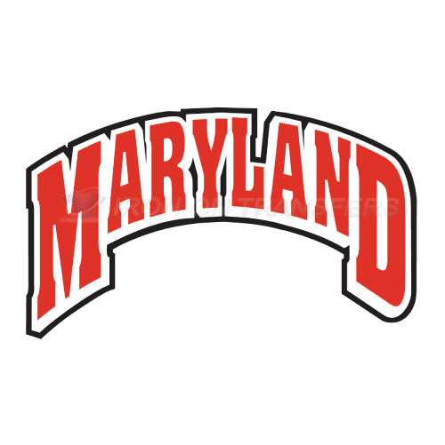 Maryland Terrapins Logo T-shirts Iron On Transfers N4997
