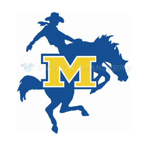McNeese State Cowboys Logo T-shirts Iron On Transfers N5012