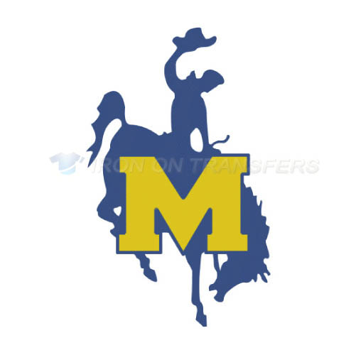 McNeese State Cowboys Logo T-shirts Iron On Transfers N5013