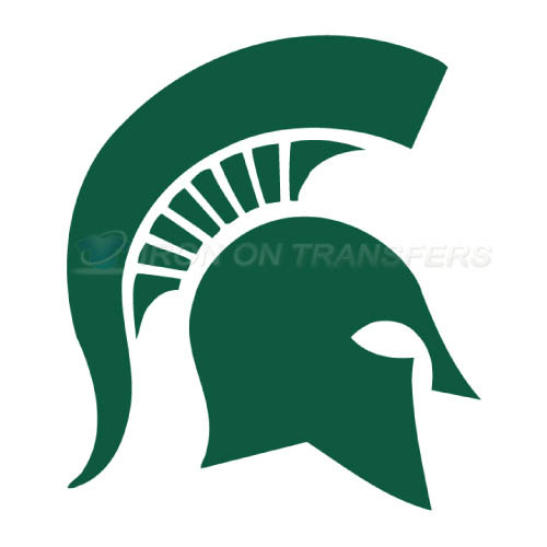Michigan State Spartans Logo T-shirts Iron On Transfers N5055