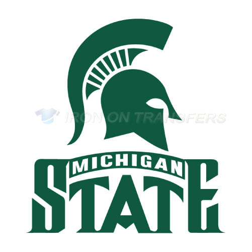 Michigan State Spartans Logo T-shirts Iron On Transfers N5057