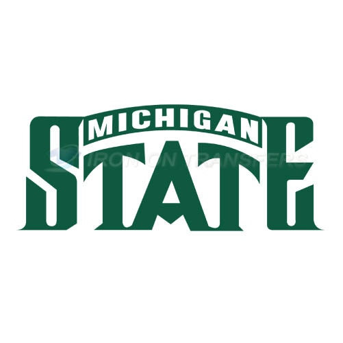 Michigan State Spartans Logo T-shirts Iron On Transfers N5058