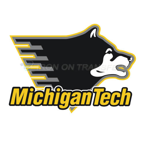 Michigan Tech Huskies Logo T-shirts Iron On Transfers N5060