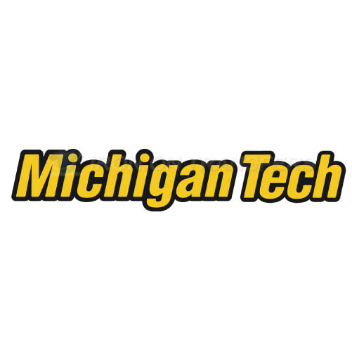 Michigan Tech Huskies Logo T-shirts Iron On Transfers N5061