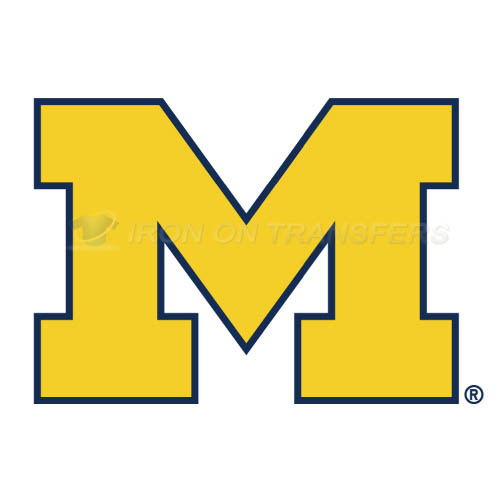 Michigan Wolverines Logo T-shirts Iron On Transfers N5065