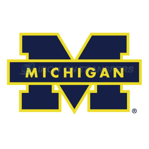 Michigan Wolverines Logo T-shirts Iron On Transfers N5067