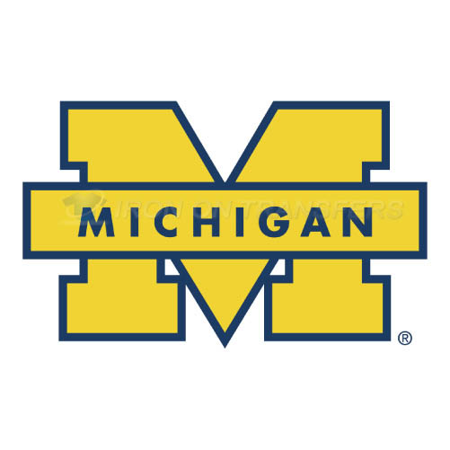 Michigan Wolverines Logo T-shirts Iron On Transfers N5071