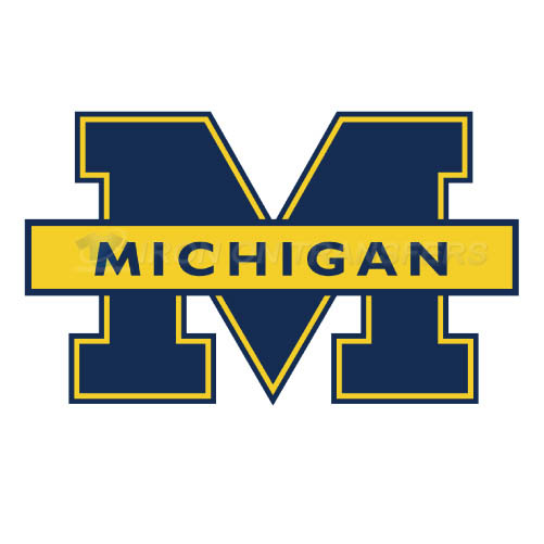 Michigan Wolverines Logo T-shirts Iron On Transfers N5074