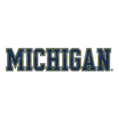 Michigan Wolverines Logo T-shirts Iron On Transfers N5076