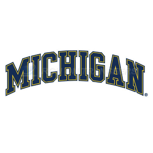 Michigan Wolverines Logo T-shirts Iron On Transfers N5078