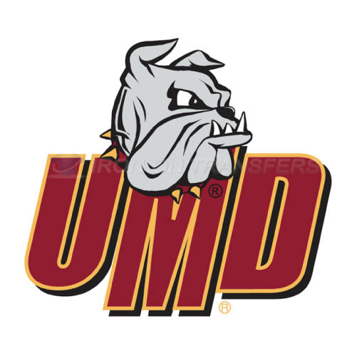 Minnesota Duluth Bulldogs Logo T-shirts Iron On Transfers N5090