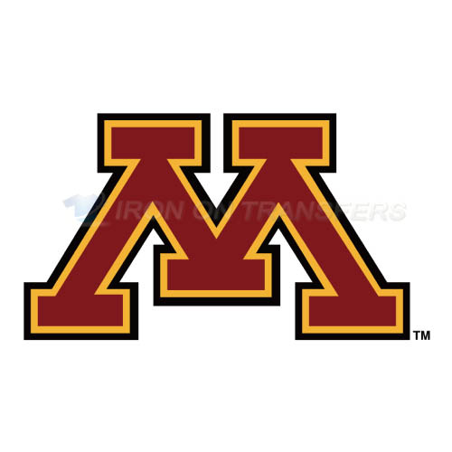 Minnesota Golden Gophers Logo T-shirts Iron On Transfers N5092