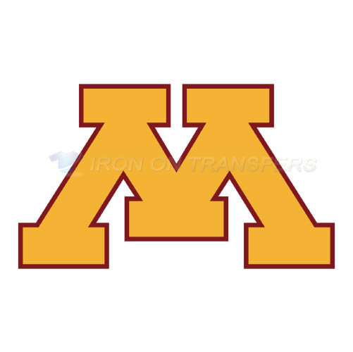 Minnesota Golden Gophers Logo T-shirts Iron On Transfers N5093