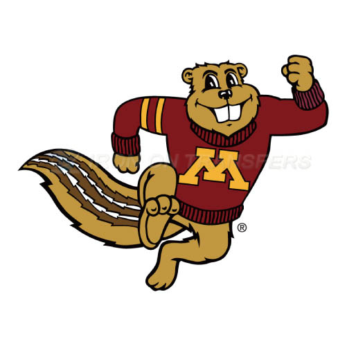 Minnesota Golden Gophers Logo T-shirts Iron On Transfers N5094