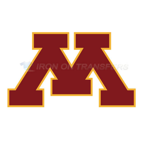 Minnesota Golden Gophers Logo T-shirts Iron On Transfers N5096