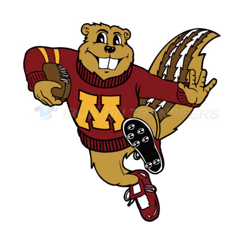 Minnesota Golden Gophers Logo T-shirts Iron On Transfers N5097