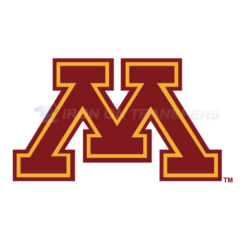 Minnesota Golden Gophers Logo T-shirts Iron On Transfers N5101