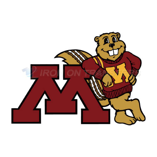 Minnesota Golden Gophers Logo T-shirts Iron On Transfers N5104