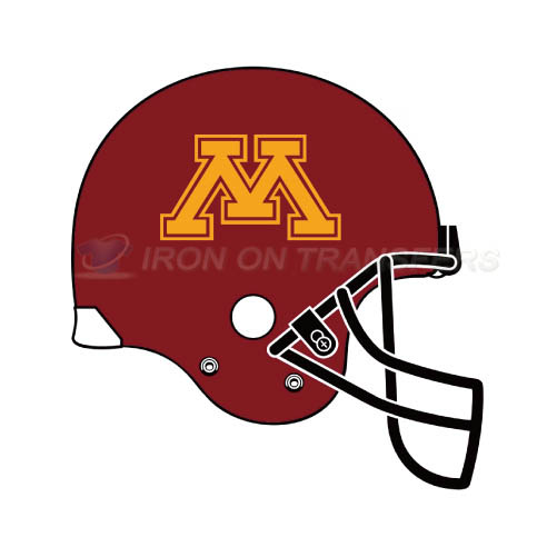 Minnesota Golden Gophers Logo T-shirts Iron On Transfers N5108