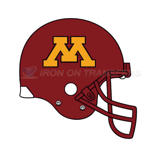 Minnesota Golden Gophers Logo T-shirts Iron On Transfers N5109