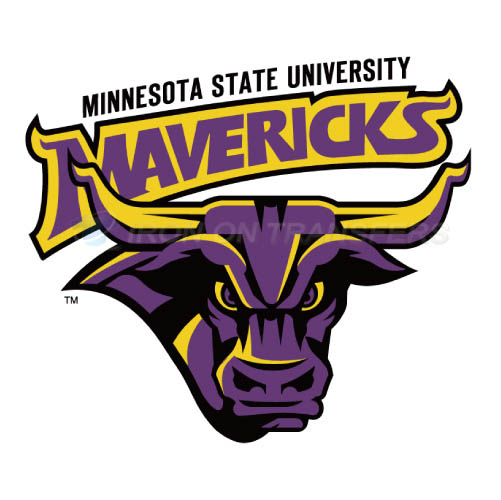 Minnesota State Mavericks Logo T-shirts Iron On Transfers N5111