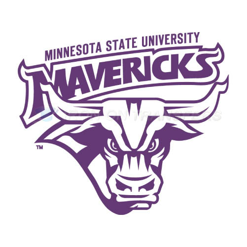 Minnesota State Mavericks Logo T-shirts Iron On Transfers N5112