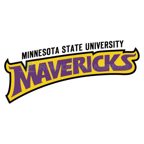 Minnesota State Mavericks Logo T-shirts Iron On Transfers N5113