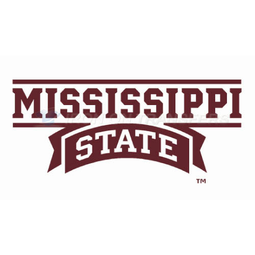 Mississippi State Bulldogs Logo T-shirts Iron On Transfers N5125