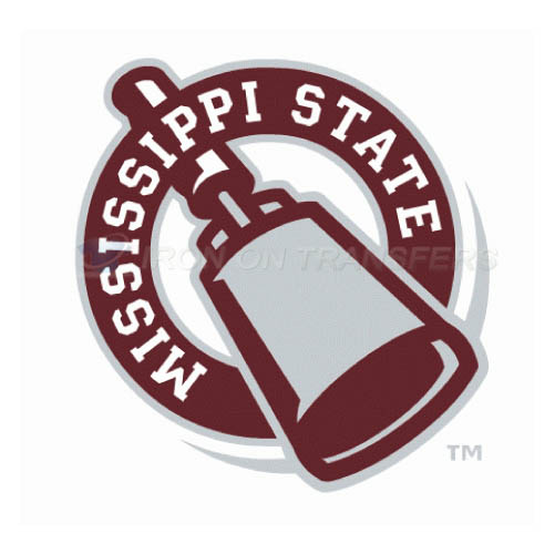 Mississippi State Bulldogs Logo T-shirts Iron On Transfers N5126