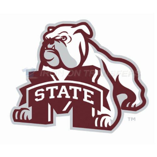 Mississippi State Bulldogs Logo T-shirts Iron On Transfers N5127