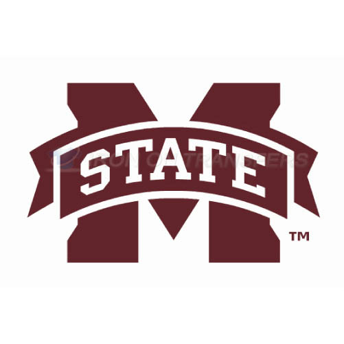 Mississippi State Bulldogs Logo T-shirts Iron On Transfers N5132