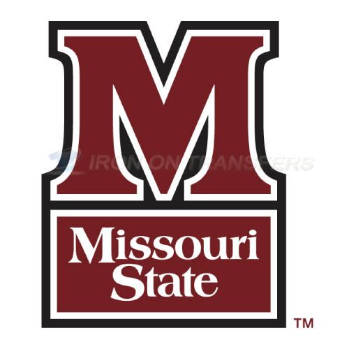 Missouri State Bears Logo T-shirts Iron On Transfers N5135