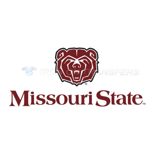 Missouri State Bears Logo T-shirts Iron On Transfers N5137