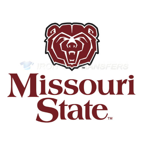Missouri State Bears Logo T-shirts Iron On Transfers N5138