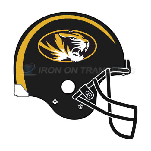Missouri Tigers Logo T-shirts Iron On Transfers N5154