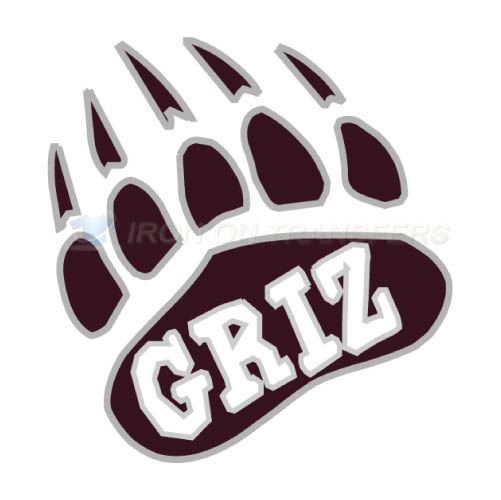 Montana Grizzlies Logo T-shirts Iron On Transfers N5170