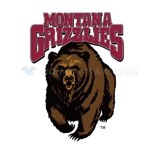 Montana Grizzlies Logo T-shirts Iron On Transfers N5174