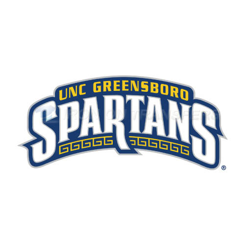 NC Greensboro Spartans Logo T-shirts Iron On Transfers N5364