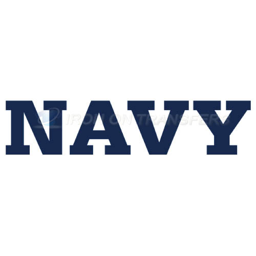 Navy Midshipmen Logo T-shirts Iron On Transfers N5345