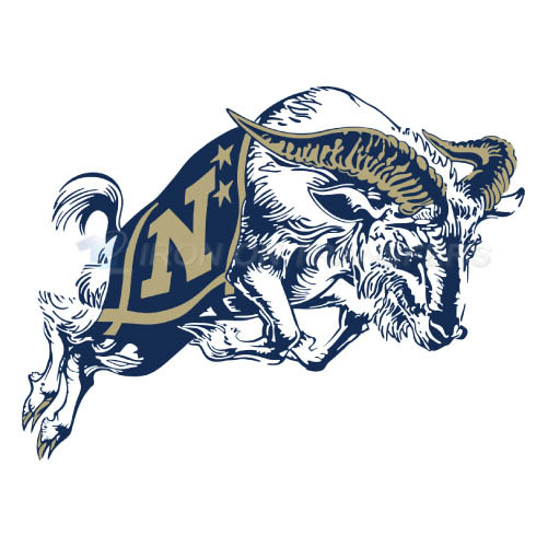 Navy Midshipmen Logo T-shirts Iron On Transfers N5346