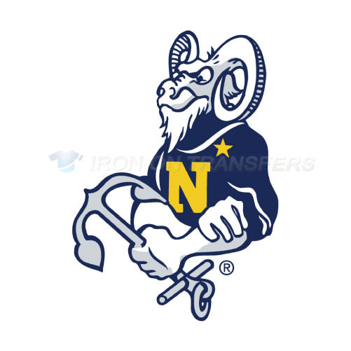 Navy Midshipmen Logo T-shirts Iron On Transfers N5358