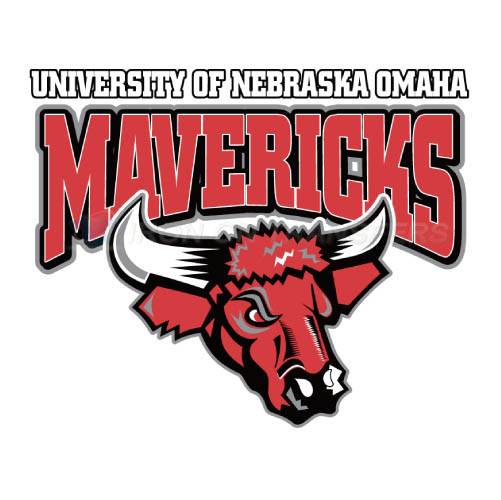 Nebraska Omaha Mavericks Logo T-shirts Iron On Transfers N5388
